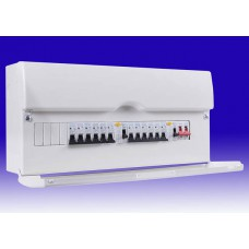 BG 16 Way Metal Dual Split Consumer Unit