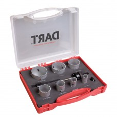 DART 10 Piece Holesaw Kit