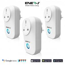 ENER-J  WiFi Smart Plugs With Energy Monitor, 16A UK Plug