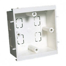 Falcon Trunking Systems Limited Falcon Dado 1Gang 35mm Socket Back Box