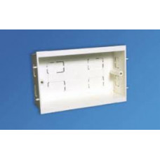 Falcon Trunking Systems Limited Falcon Dado 2 Gang 35mm Socket Back Box