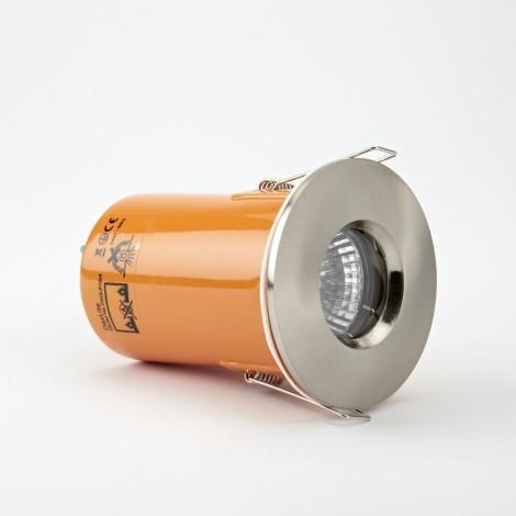 Daxlite Satin Silver Shower Proof Downlight – IP65