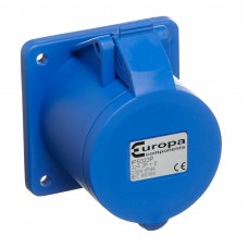 Europa Components IP44 PANEL SOCKET 230V 2P+E 16A