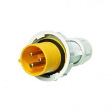 Europa Components IP67 PLUG 110V 2P+E 16A