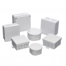 Europa Components IP55 Rated H: 90 x W: 90 x D: 55mm (with elastic membrane)