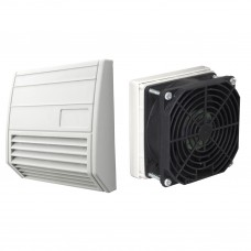Europa Components Fan & Filter with Housing 134 x 129mm